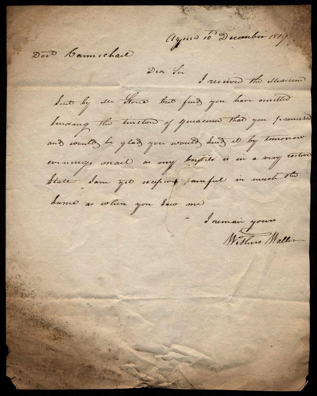 Box1/1819_1820Carmichael_Correspondence/1819Dec10/recto