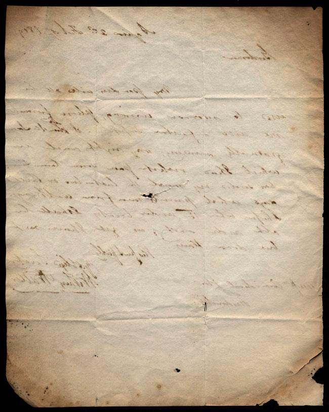 Box1/1819_1820Carmichael_Correspondence/1819Feb02/verso