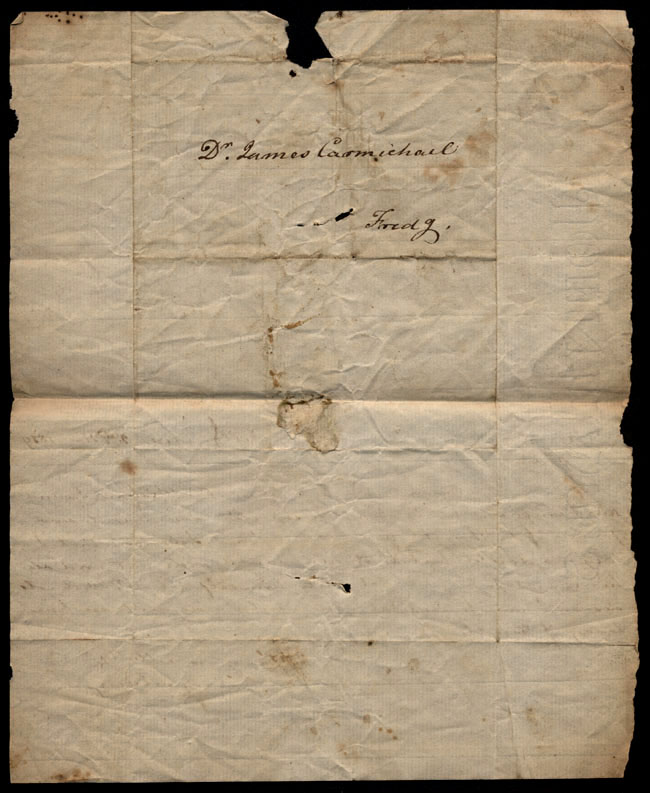 Box1/1819_1820Carmichael_Correspondence/1819Nov02/verso
