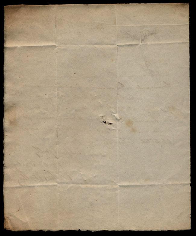 Box1/1819_1820Carmichael_Correspondence/1820Feb19/verso