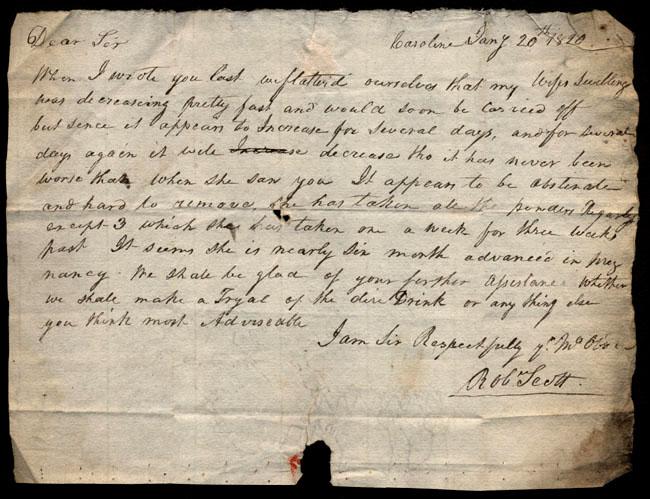 Box1/1819_1820Carmichael_Correspondence/1820Jan20/recto
