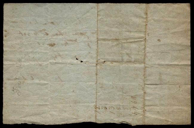 Box1/1819_1820Carmichael_Correspondence/1820Jul01/verso