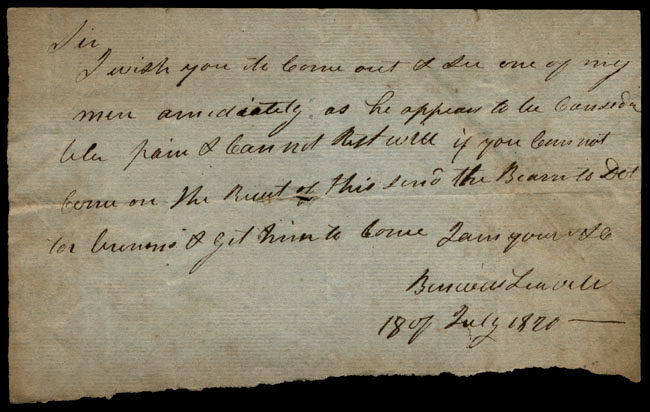 Box1/1819_1820Carmichael_Correspondence/1820Jul18/recto