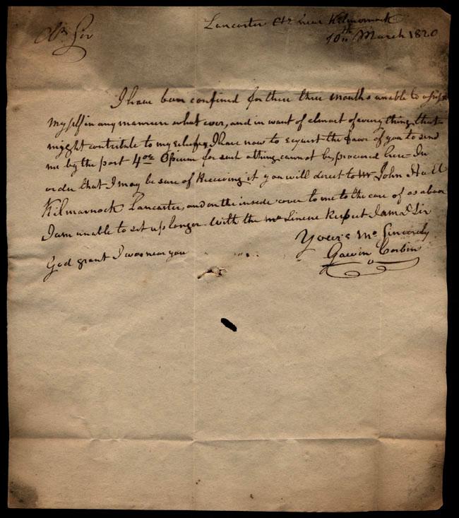 Box1/1819_1820Carmichael_Correspondence/1820Mar10/recto