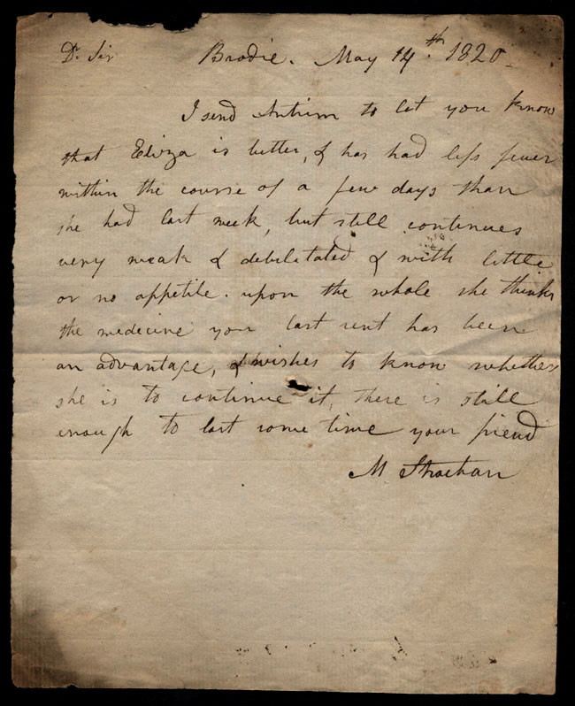 Box1/1819_1820Carmichael_Correspondence/1820May14/recto
