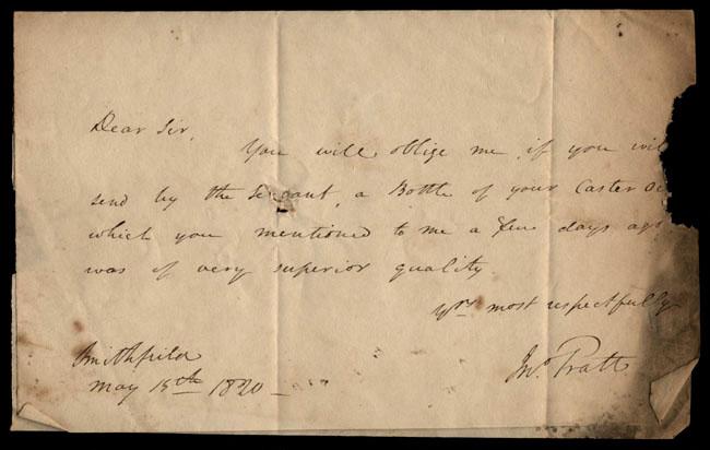 Box1/1819_1820Carmichael_Correspondence/1820May15_Pratt/pg1
