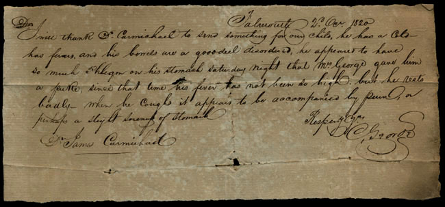 Box1/1819_1820Carmichael_Correspondence/1820Oct02/recto