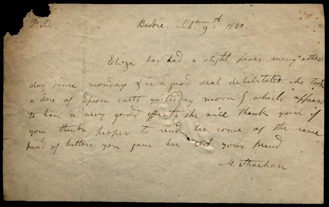 Box1/1819_1820Carmichael_Correspondence/1820Sep09_Strachan/recto