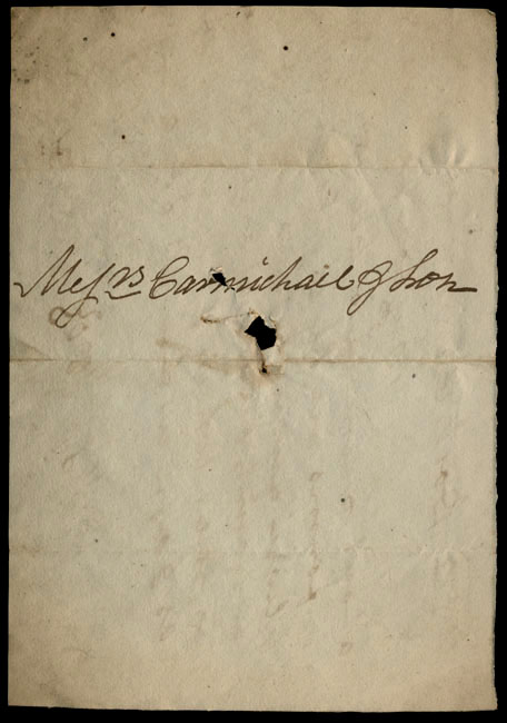 Box1/1819_1820Carmichael_Correspondence/1820Sep26/verso