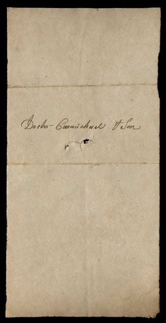 Box1/1821Carmichael_Correspondence/1821Apr25/verso