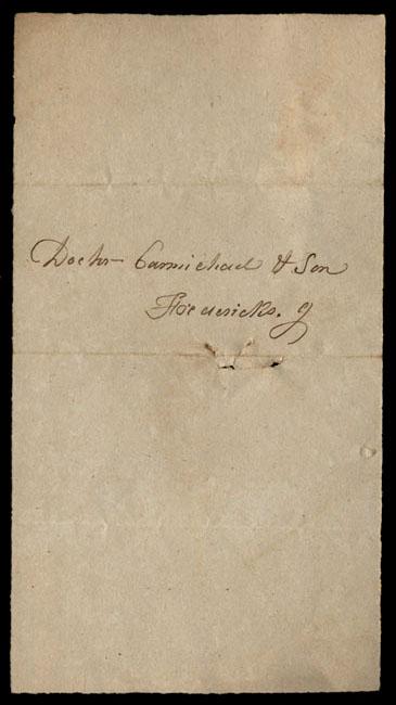 Box1/1821Carmichael_Correspondence/1821Apr27/verso