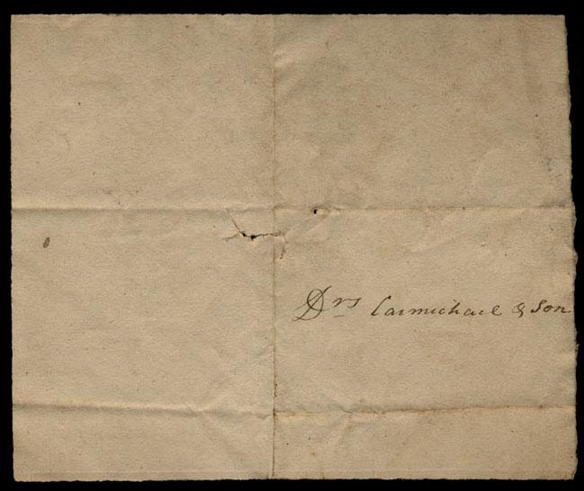 Box1/1821Carmichael_Correspondence/1821Aug04/verso