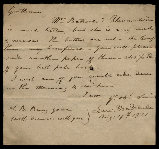 Box1/1821Carmichael_Correspondence/1821Aug14/recto
