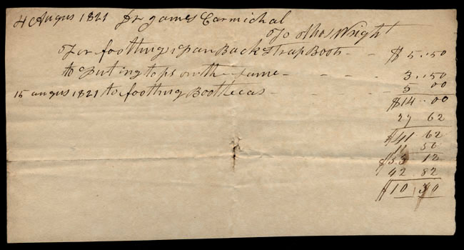Box1/1821Carmichael_Correspondence/1821Aug15_Wright/recto