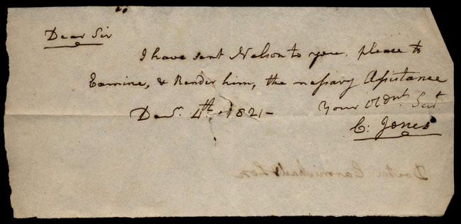 Box1/1821Carmichael_Correspondence/1821Dec04/recto