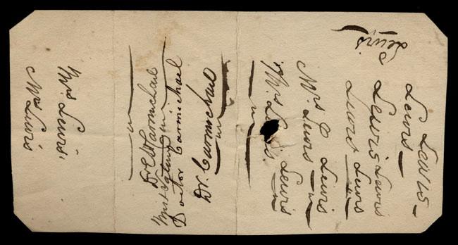 Box1/1821Carmichael_Correspondence/1821Jan06/verso