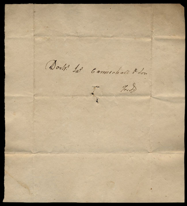 Box1/1821Carmichael_Correspondence/1821Jul14/verso