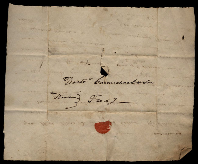 Box1/1821Carmichael_Correspondence/1821Jul30/verso
