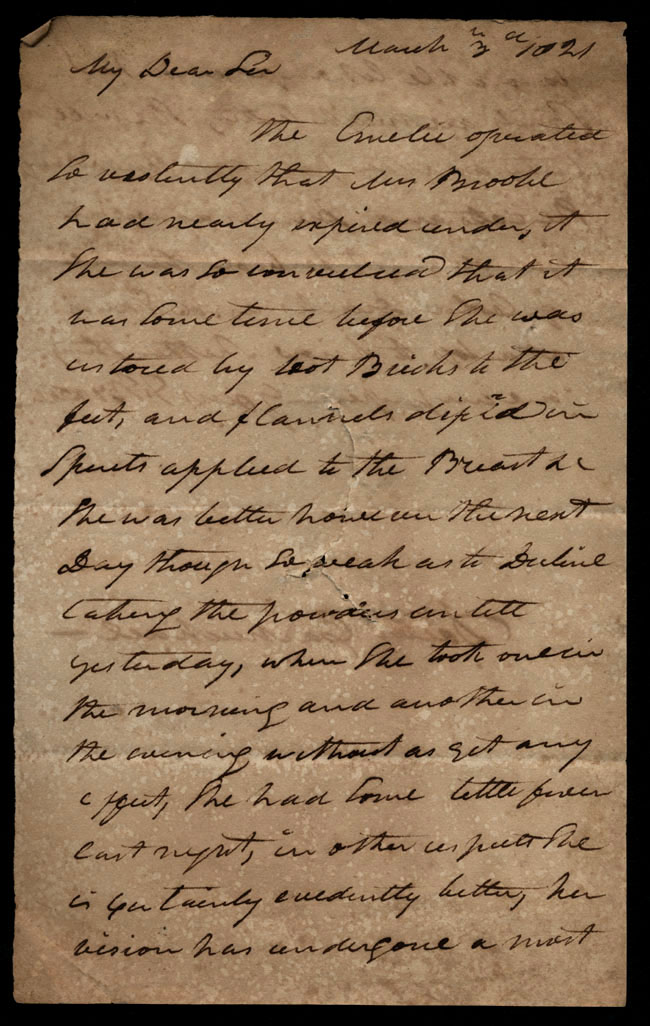 Box1/1821Carmichael_Correspondence/1821Mar03/recto