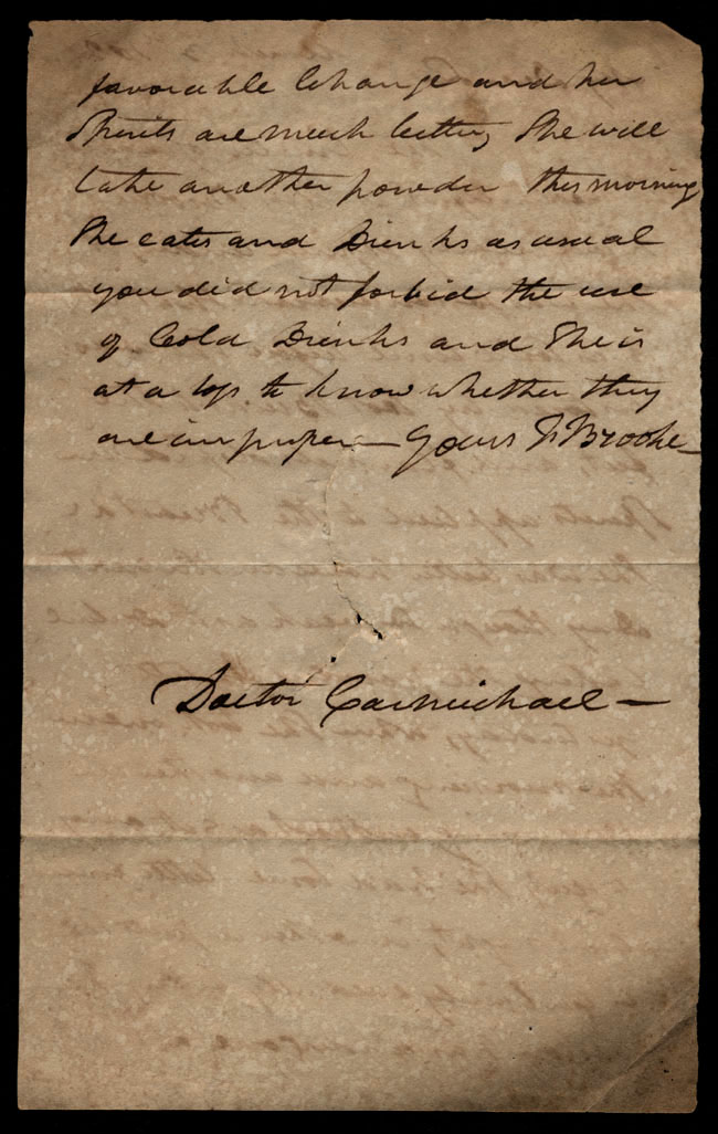 Box1/1821Carmichael_Correspondence/1821Mar03/verso