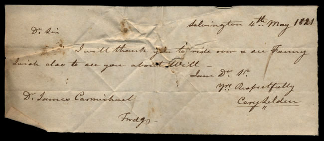 Box1/1821Carmichael_Correspondence/1821May04/recto