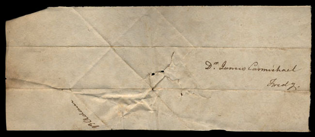 Box1/1821Carmichael_Correspondence/1821May04/verso