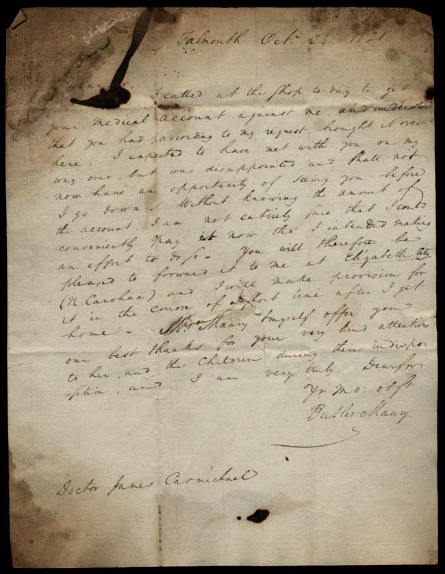 Box1/1821Carmichael_Correspondence/1821Oct24/pg1