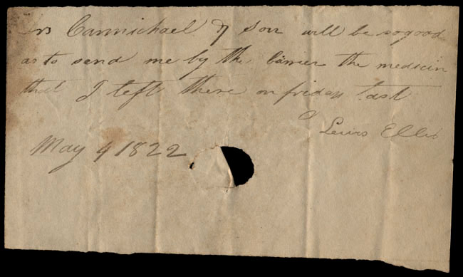 Box1/1822Carmichael_Correspondence/1822May04/recto