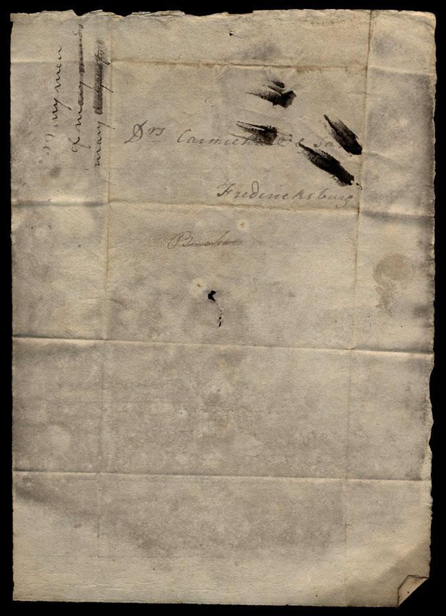 Box1/1823Jan_MayCarmichael_Correspondence/1823Apr09/verso