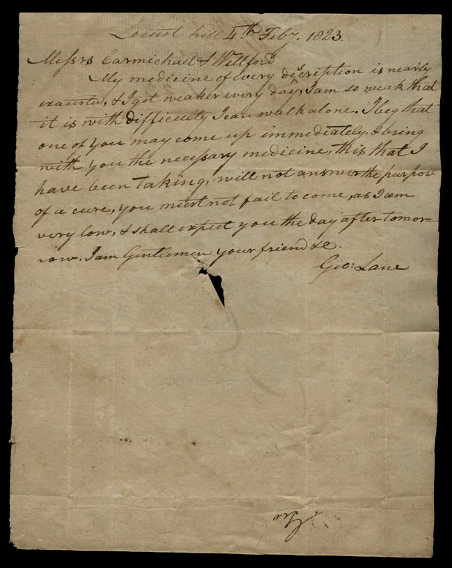 Box1/1823Jan_MayCarmichael_Correspondence/1823Feb04/recto
