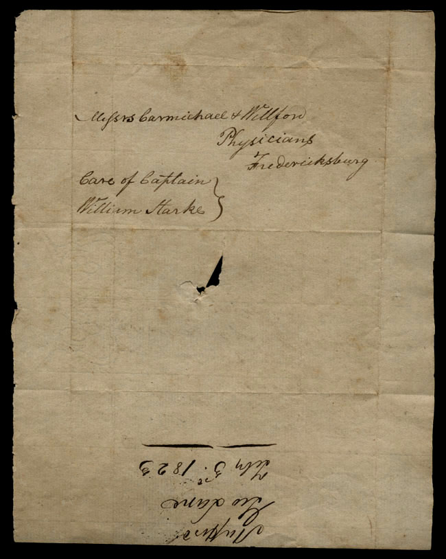 Box1/1823Jan_MayCarmichael_Correspondence/1823Feb04/verso