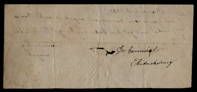 Box1/1823Jan_MayCarmichael_Correspondence/1823Mar11/verso