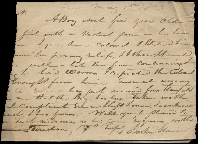Box1/1823Jan_MayCarmichael_Correspondence/1823May01_Stanard/pg1