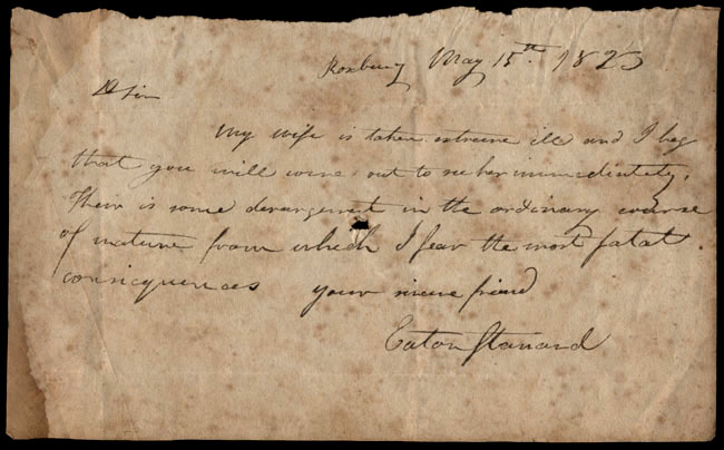 Box1/1823Jan_MayCarmichael_Correspondence/1823May15_Stanard/recto
