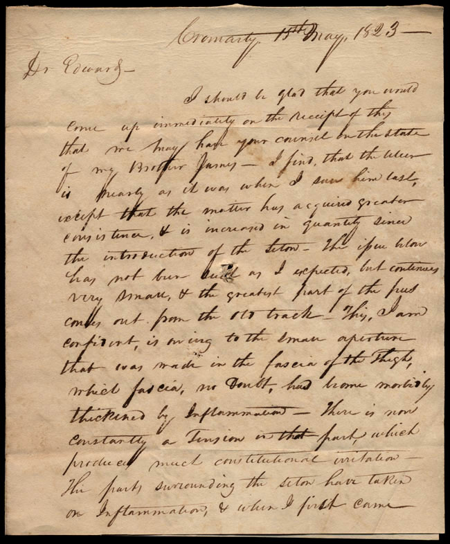 Box1/1823Jan_MayCarmichael_Correspondence/1823May15_Urquhart/pg1