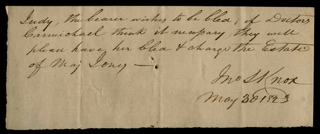 Box1/1823Jan_MayCarmichael_Correspondence/1823May30/recto
