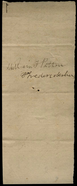 Box1/1823Jan_MayCarmichael_Correspondence/1823May30/verso