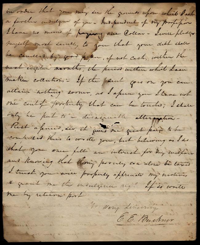 Box1/1823Jun_DecCarmichael_Correspondence/1823Aug22/verso