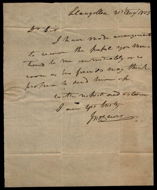 Box1/1823Jun_DecCarmichael_Correspondence/1823Aug31/recto