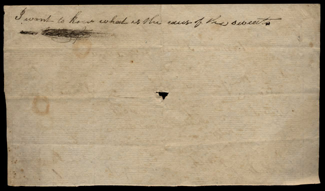 Box1/1823Jun_DecCarmichael_Correspondence/1823Jul29/verso
