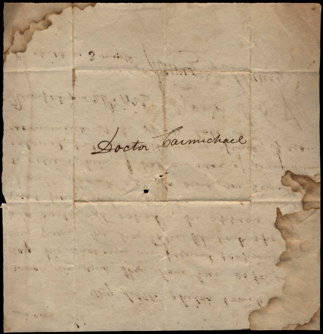 Box1/1823Jun_DecCarmichael_Correspondence/1823Jun26/verso
