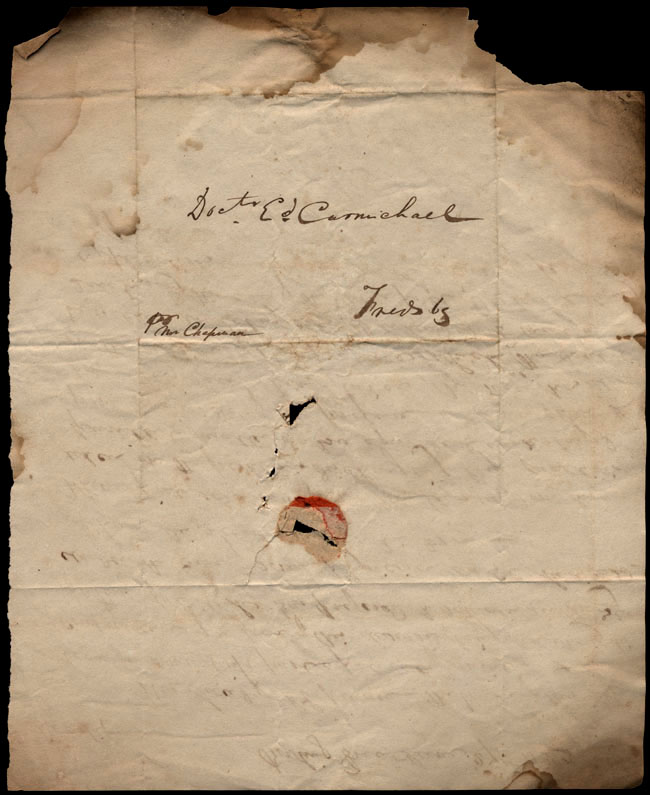 Box1/1823Jun_DecCarmichael_Correspondence/1823Jun27/verso