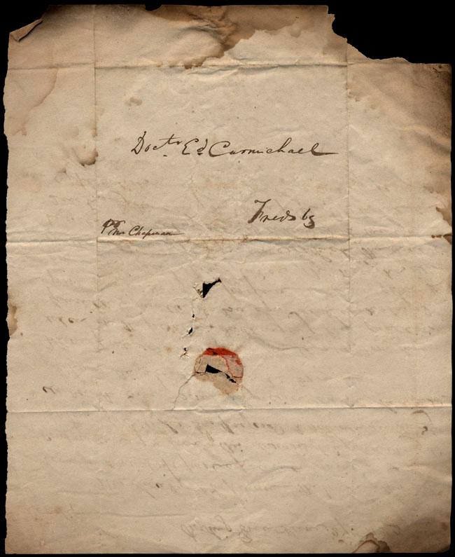 Box1/1823Jun_DecCarmichael_Correspondence/1823Jun27/verso
