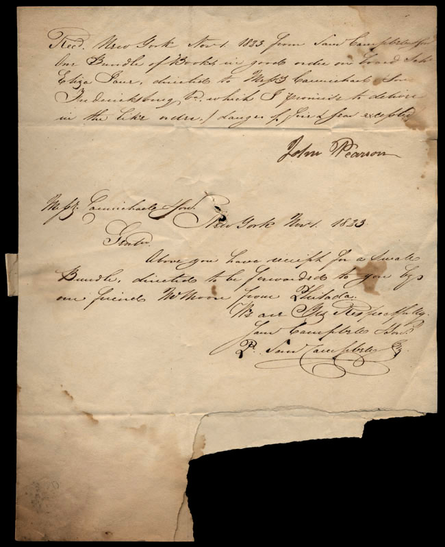 Box1/1823Jun_DecCarmichael_Correspondence/1823Nov01/pg1