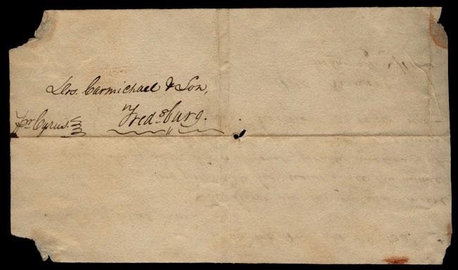 Box1/1823Jun_DecCarmichael_Correspondence/1823Oct07/verso
