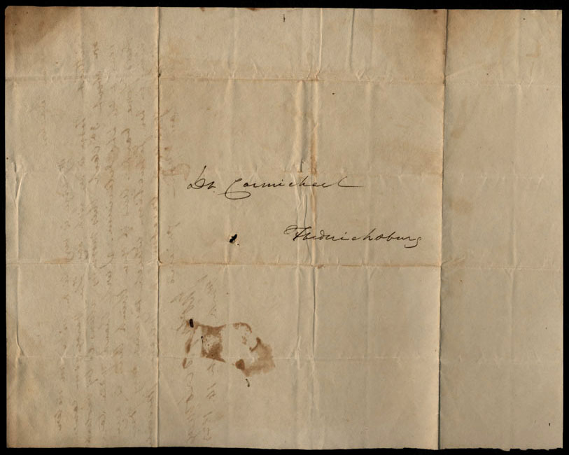 Box1/1823Jun_DecCarmichael_Correspondence/1823Sep14/verso