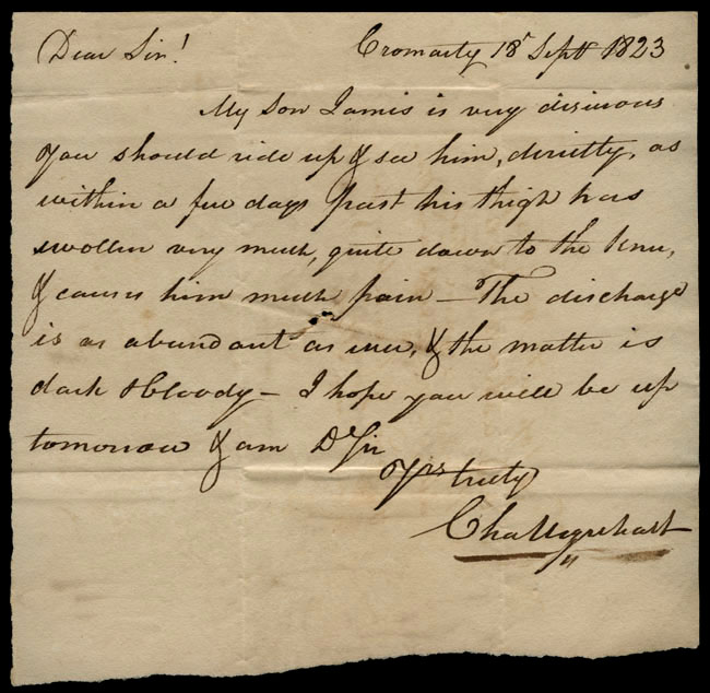 Box1/1823Jun_DecCarmichael_Correspondence/1823Sep18/recto