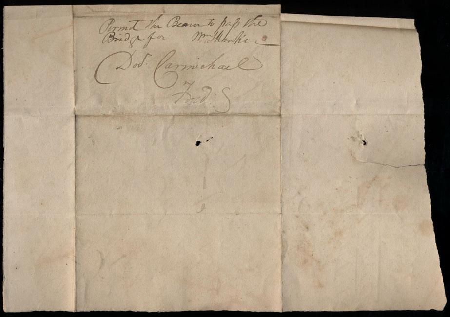 Box1/1824Carmichael_Correspondence/1824Feb04/verso