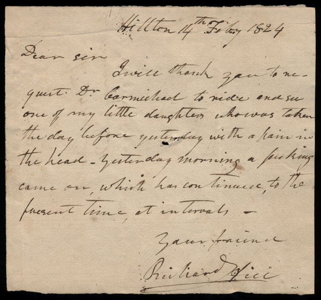 Box1/1824Carmichael_Correspondence/1824Feb14/recto