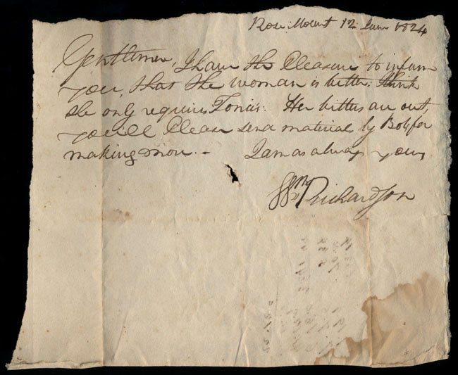 Box1/1824Carmichael_Correspondence/1824Jun12/recto